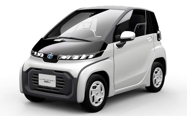 Toyota apresenta carro elétrico ultra-compacto no Japão