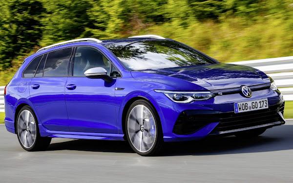 VW Golf R Estate 2022 começa a ser vendido na Europa - fotos e preços